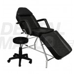 Adjustable Teeth Whitening Chair with Hydrolic Side Stool for Dental Clinics or Salon Use, Fully Folding Model