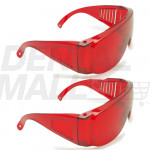 Dental Lab Goggles Anti-fog Anti-UV Eye Safety Spectacles for Dental or Medical Use 2 Pack