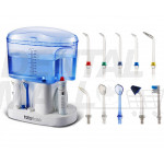 Dental WaterFlosser Oral Irrigator Plus 11 pcs Water Jet Tips And 1000ml Water Tank
