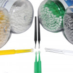 Grinigh Micro Brush Applicators with Flexible Tips for Dental or Cosmetic Use